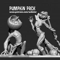 Pumpkin Pack - Screaming Pumpkin & Pumpkin Queen - single and multimaterial