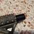 Airsoft CQB silencer suppressor short with 14mm CCW Softair image