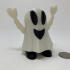 Pin Walking Happy Halloween Happy Ghost image