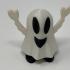 Pin Walking Happy Halloween Happy Ghost image