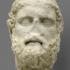 Greek Poet Anakreon (wrongly entitled Demosthenes) image
