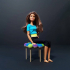 PomPom Chair - 3D Printed Doll Furniture image