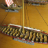 Small Viking Warship With 13 Oars On Each Side image