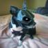 Dog superhero mask image