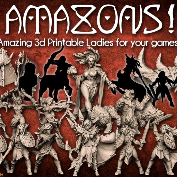 Amazon Warrior from AMAZONS! Kickstarter