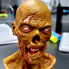 Picture of print of ZOMBUST! - Zombie bust (Pre-supported)