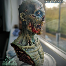 ZOMBUST! - Zombie bust (Pre-supported)