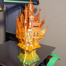 Picture of print of Vampire Castle