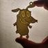 Courage Keychain image