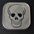 Fun Halloween Skull Coaster image