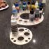 Paint Bottle Holders (Citadel and Vallejo) - filament roll fitting & standalone image