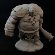 Picture of print of Ogre Mauler Miniature