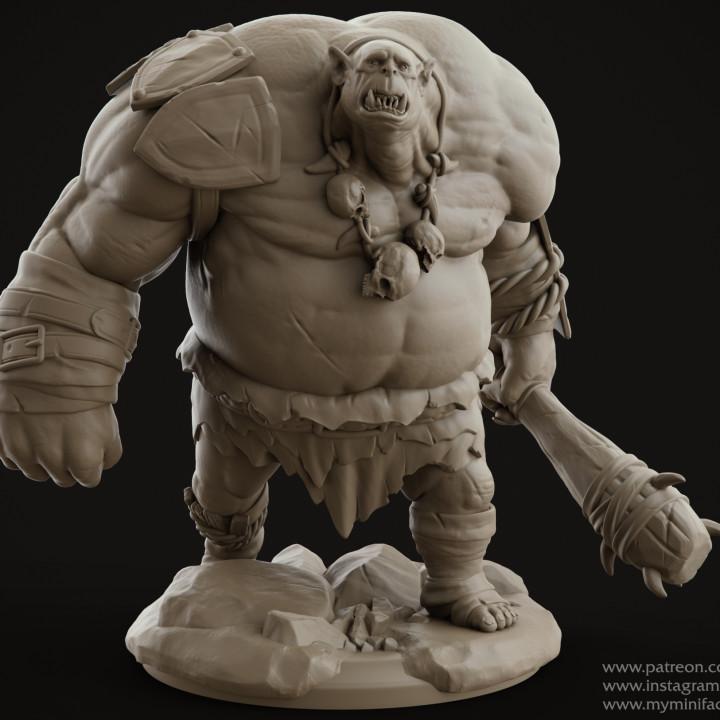 Ogre Mauler Miniature