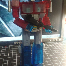 Picture of print of G1 Optimus Prime