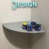 Glued Corner Shelf image
