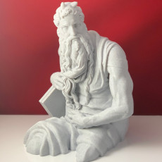 Picture of print of Moses (Upper Half)