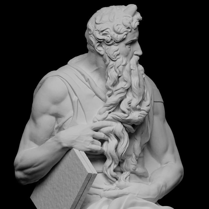 Moses (Upper Half)