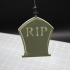 Hanging RIP Tombstone image