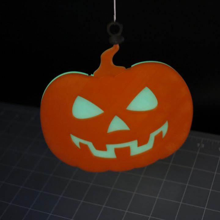 Hanging Pumpkin!