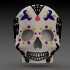 Day of the dead skull (Calaverita) image