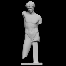Statue of a young athlete (The Westmacott Athlete)