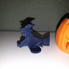 Picture of print of Sticking Tongue Pumpkin Head