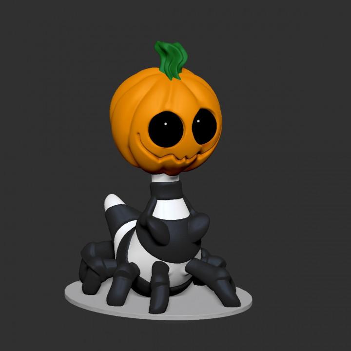 Burton - Spider Pumpkin - Single color and multi material