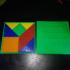 Pythagoras (resembling Tangram) game puzzle image