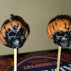 Picture of print of Evil Pumpkin Skulls This print has been uploaded by Trevor McIntosh