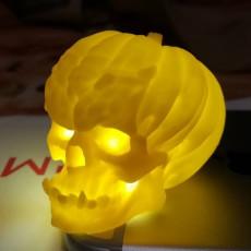 Picture of print of Evil Pumpkin Skulls
