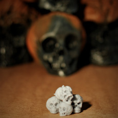 Picture of print of Evil Pumpkin Skulls 这个打印已上传 Olivier Royer-Tardif