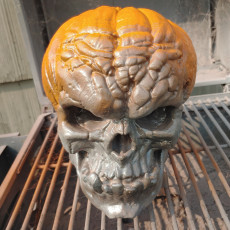 Picture of print of Free Evil Pumpkin Skull Sample This print has been uploaded by Joshua Lawty