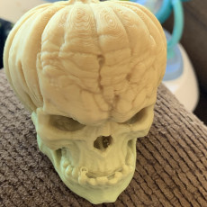 Picture of print of Free Evil Pumpkin Skull Sample This print has been uploaded by Felipe Macias
