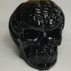 Picture of print of Free Evil Pumpkin Skull Sample This print has been uploaded by Luke Lozowski