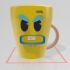 Angry milk cup image