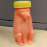 Animals for Sarcophagus Decoration - Monkey, With Bottle Cap Hat image