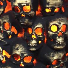 Picture of print of Pillar of Skulls