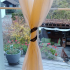 Voronoi curtain holder spiral image