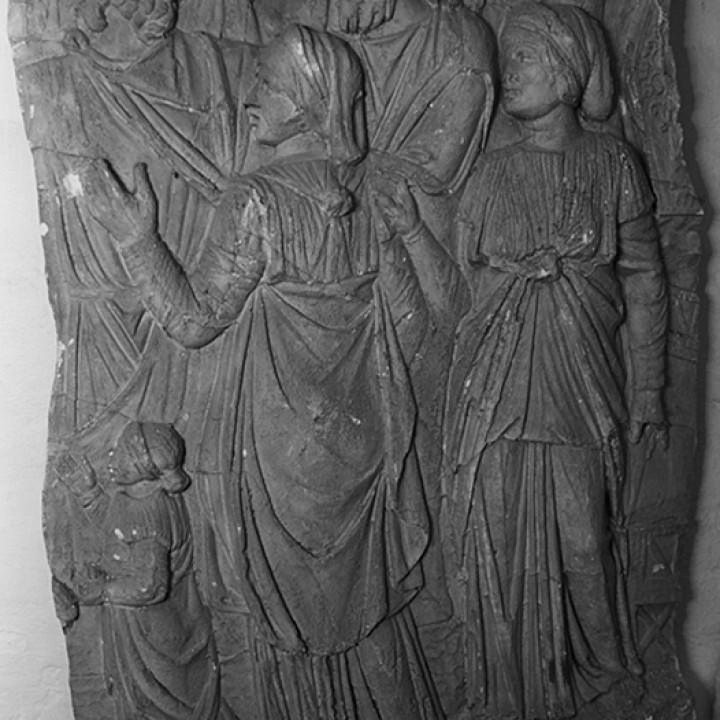Trajan's Column [XCI] Spectators of a sacrifice