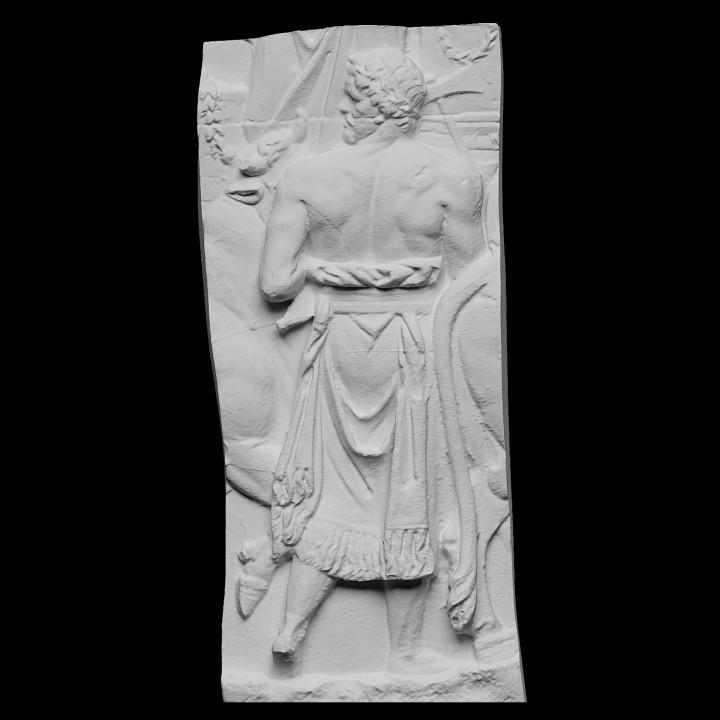 Trajan's Column [LXXXIV] Trajan in procession