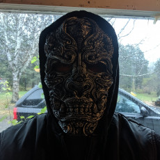 Mask of the warrior