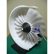 Geared Turbofan Engine (GTF), 10 inch Fan Module