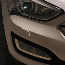 Headlight washer cover (Cap) for Hyundai santa fe 2013