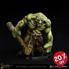 Brute Zombie Miniature