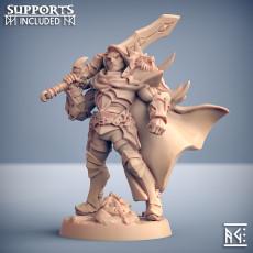 Sigfrido Dragonbane - Fighters Guild Hero