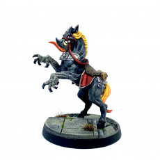 Picture of print of Sigfrido on Gryphsteed - Fighters Guild Hero on Gryphsteed