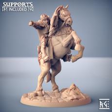 Morgana on Warhorse - Fighters Guild Hero on Warhorse