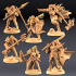 Human Fighters Guild - 4 Modular + 2 Heroes image