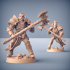 COMPLETE Human Fighters Guild (presupported) image