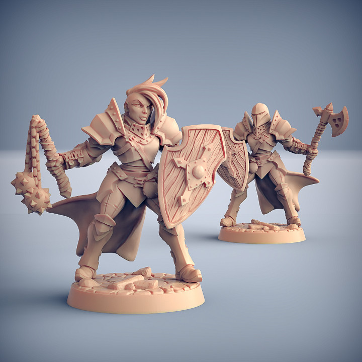 Human Fighters Guild - 6 Modular